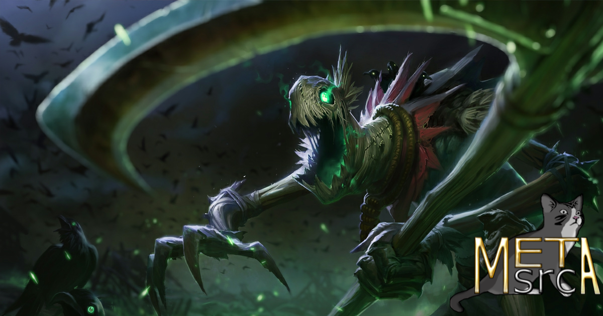 Lol Patch 10 25 Preseason Fiddlesticks Build Guide Aram Na Metasrc He can either power farm and get levels ahead, or gank a lot to get an advantage or a mix of both. fiddlesticks build guide aram na