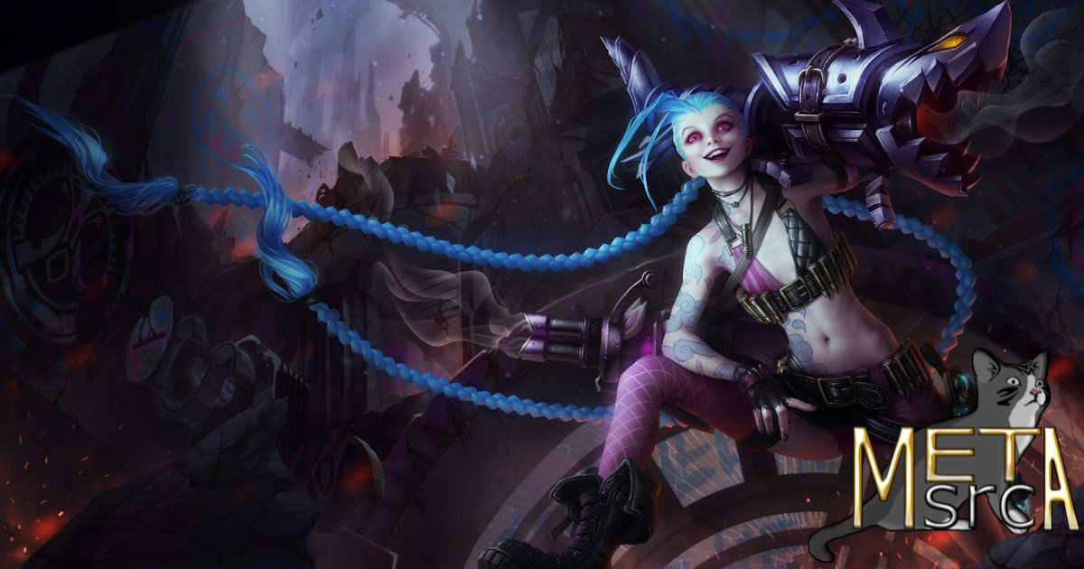 Lol Patch 10 25 Preseason Jinx Build Guide Aram Na Metasrc Also includes as well as champion stats, popularity, winrate, rankings for this champion. patch 10 25 preseason jinx build guide